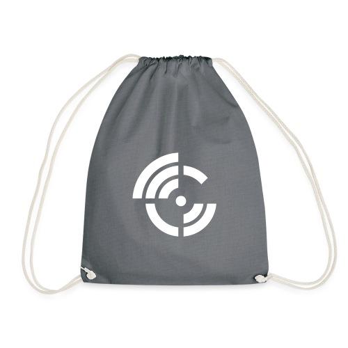 electroradio.fm logo - Drawstring Bag