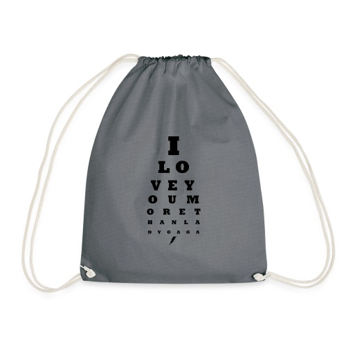 GoGo for GAGA - I love you more than Lady G... - Drawstring Bag