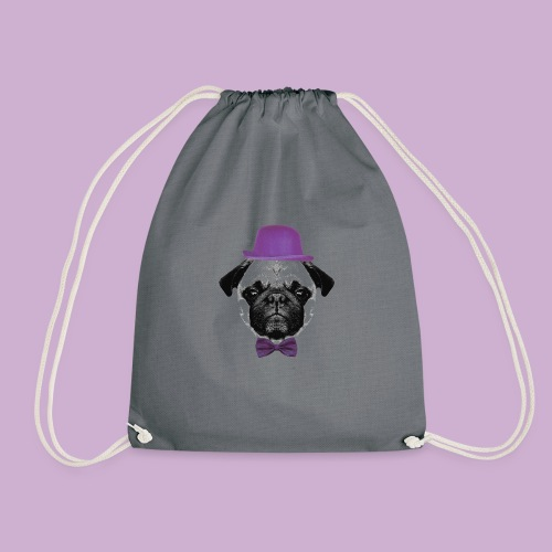 Mops Puppy - Turnbeutel
