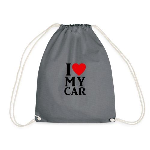 I love my car - Turnbeutel