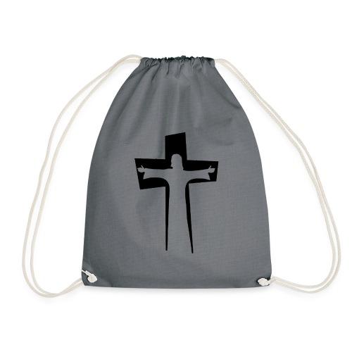Abstrakt Jesus på korset - Gymnastikpåse