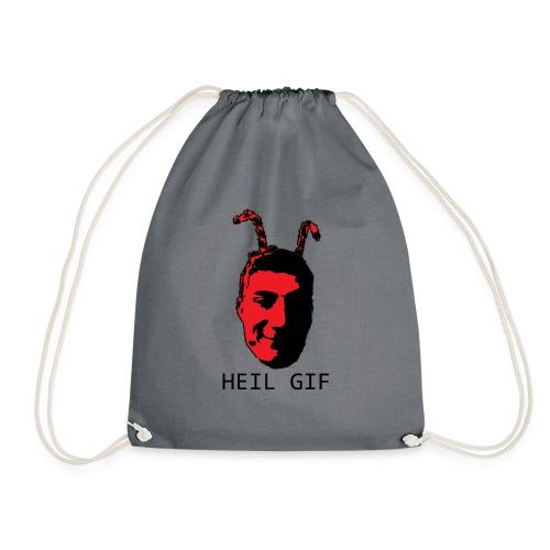 Garrett - HEIL GIF - Drawstring Bag
