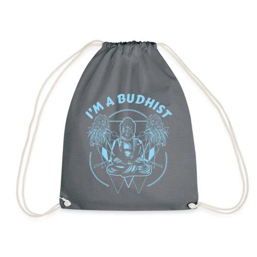 Im a budhist - Gymbag