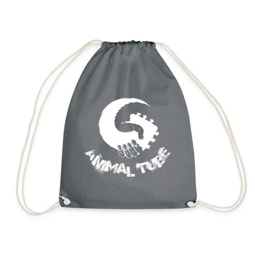 Animal Tube Hand White - Turnbeutel