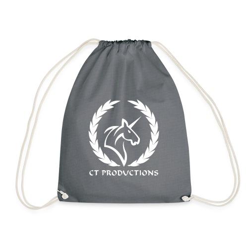 CT Logo Weiß - Turnbeutel