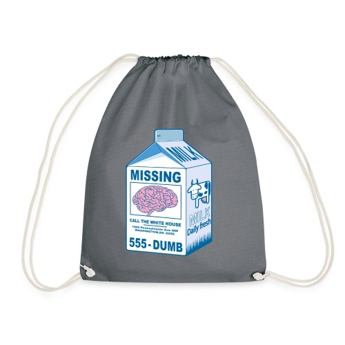 Missing brain - Drawstring Bag