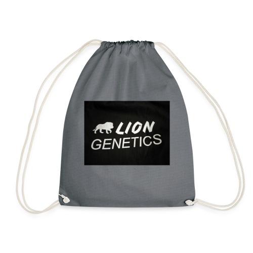 Liongenetics Logo - Turnbeutel