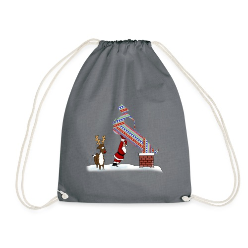 Superstox Stock Car Christmas Delivery - Drawstring Bag