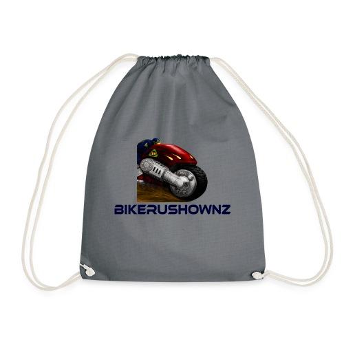 bikerushwonz merchandise - Drawstring Bag
