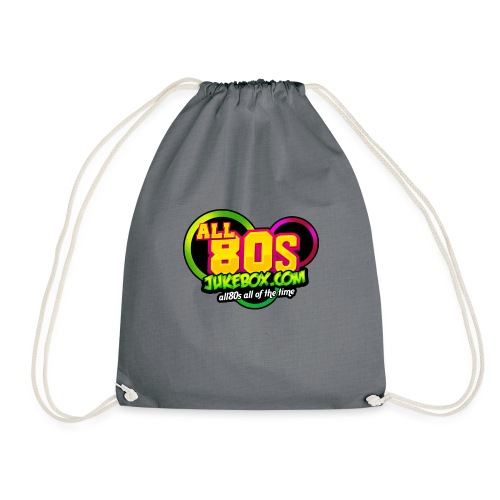 All80s Jukebox Merch - Drawstring Bag