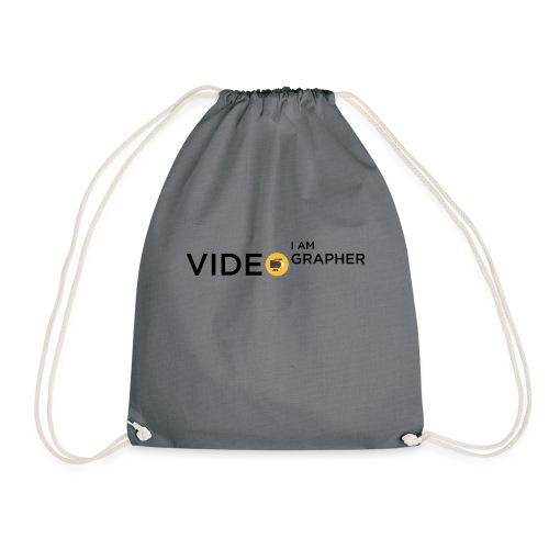 I AM VIDEOGRAPHER - 1 Black - Sacca sportiva