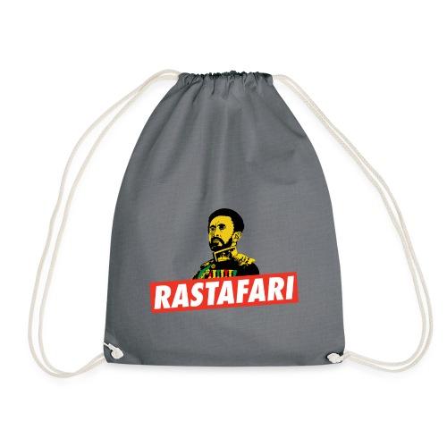 Rastafari - Haile Selassie - HIM - Jah Rastafara - Turnbeutel