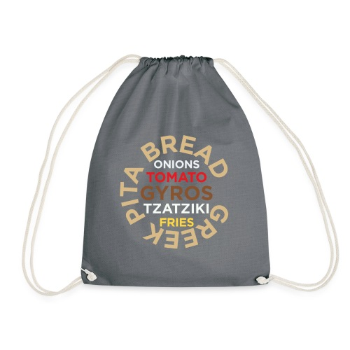 PITA gyros - Drawstring Bag