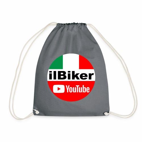 ilBiker - Logo tondo - Sacca sportiva
