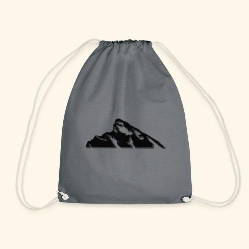 Snowy mountains - Drawstring Bag