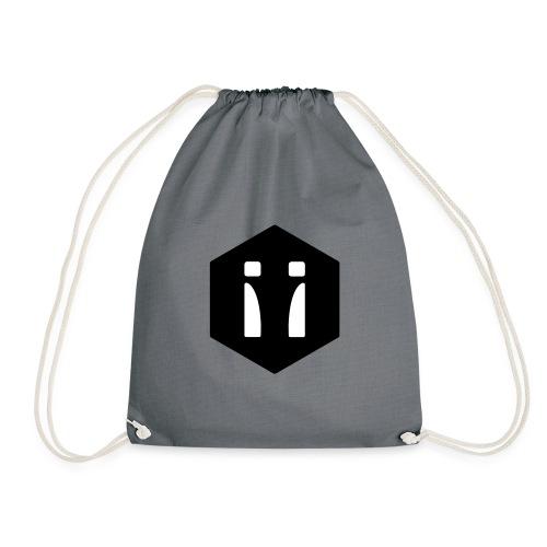 Logo schwarz 2-farbig - Turnbeutel