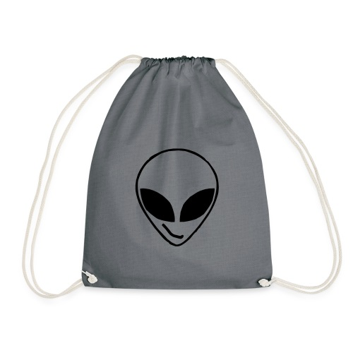 Alien simple Mask - Drawstring Bag