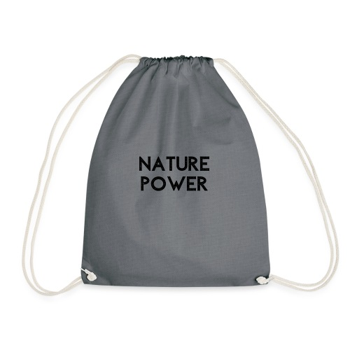 NATURE POWER - BLACK - Sac de sport léger
