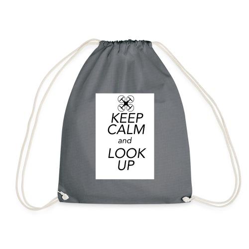 Keep Calm and Look Up - Gymtas