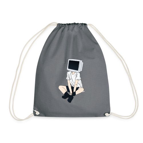 Monitor Head 3 - Drawstring Bag