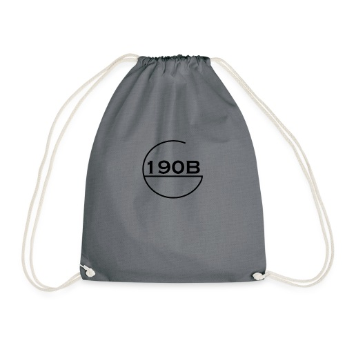 190B G Black Logo - Gymtas