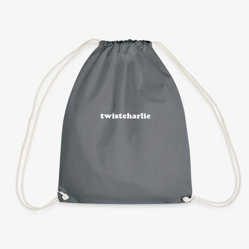 twistcharlie white - Drawstring Bag