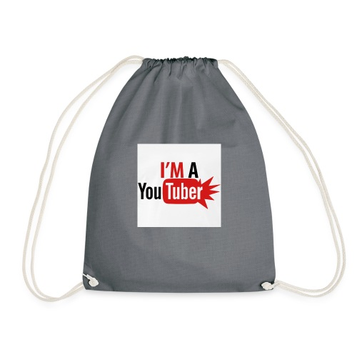 im a youtuber t shirts men s premium t shirt - Gymtas