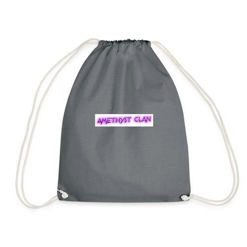Amethyst Clan Merch - Drawstring Bag