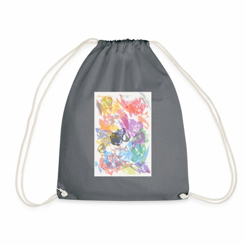 Calming colours - Drawstring Bag