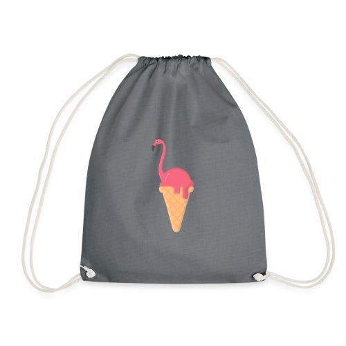 Flamingo Eis - Turnbeutel