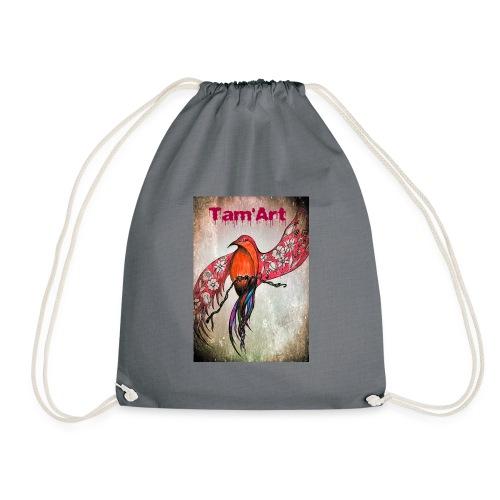 Tam'Art oiseau rouge - Sac de sport léger