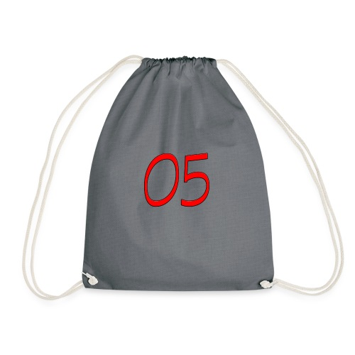 05 nummer - Turnbeutel