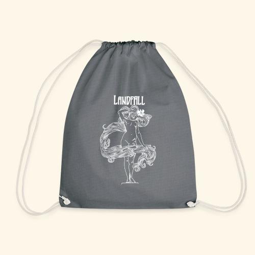LANDFALL FLORA NEGRA BW - Turnbeutel