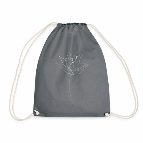 Lotus flower white - Gymtas