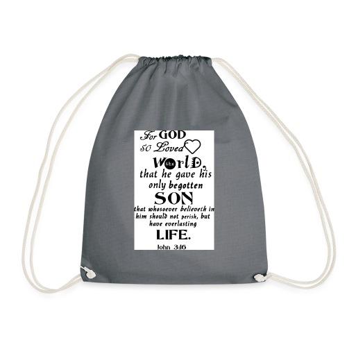 John 3 16 - Drawstring Bag
