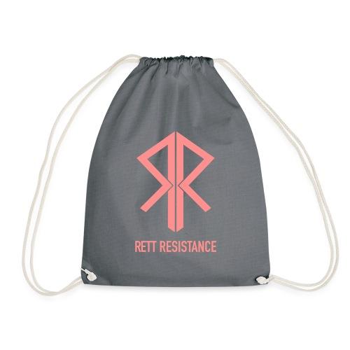 Rett Resistance - balance - Drawstring Bag