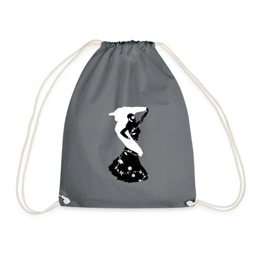 Bellydancer with veil - Drawstring Bag
