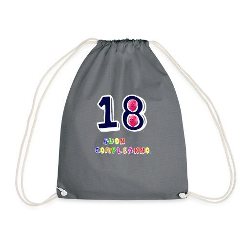 18 BUON compleanno - Sacca sportiva