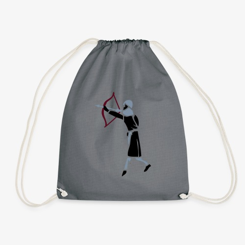 Archer Medieval Icon patjila design - Drawstring Bag