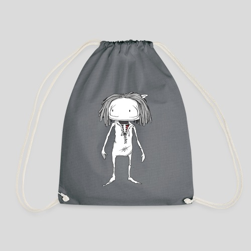 This girls name is Linne - Drawstring Bag