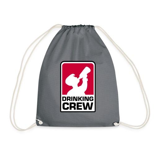 Drinking Crew Logo - Turnbeutel