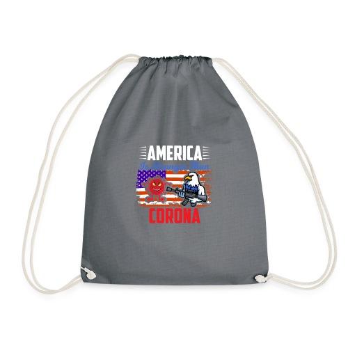 America against Corona - Turnbeutel