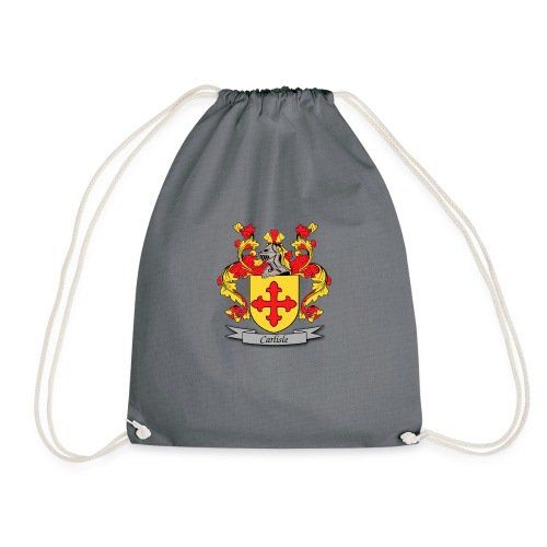Carlisle Family Crest - Drawstring Bag