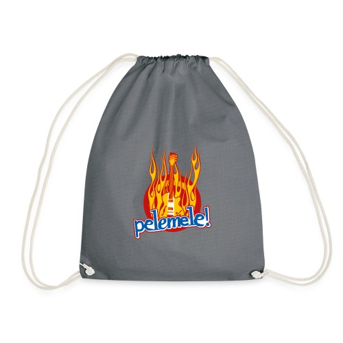 Pelemele! Flammenshirt - Turnbeutel
