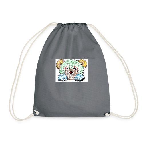 spray bear - Drawstring Bag