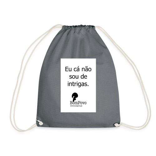 eucanaosoudeintrigas - Drawstring Bag