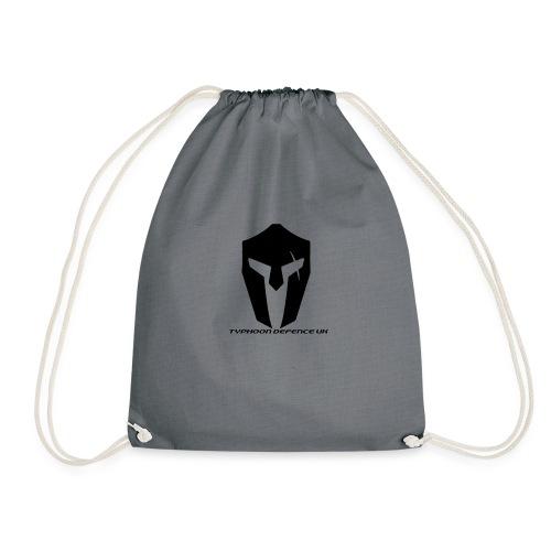 Typhoon Defence UK Official Logo - Drawstring Bag