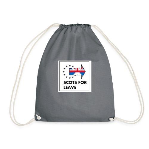 Scots for Leave - Drawstring Bag