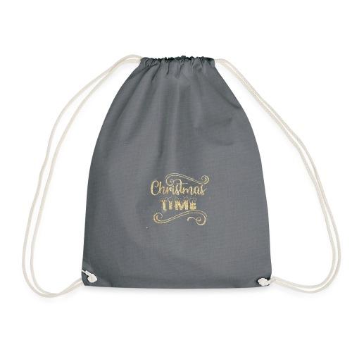 Christmas time - Drawstring Bag