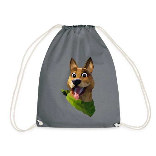 LOW POLY DOGO - Sac de sport léger